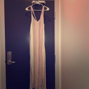 Long colorful summery dress
